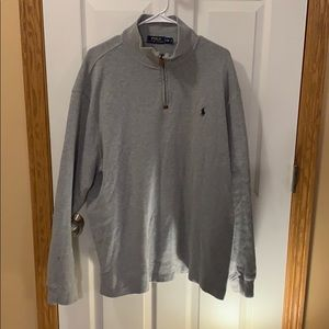 Polo by Ralph Lauren 1/4 zip pullover - XXL